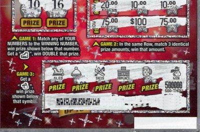 Man lets clerk choose lottery ticket, wins $500,000
