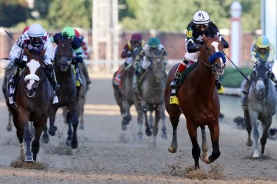 Authentic wins Kentucky Derby, favorite Tiz the Law second