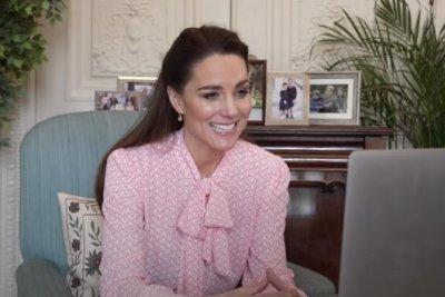 Kate Middleton congratulates Jasmine Harrison on record-breaking row