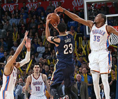 Brow Beaten: Davis' 3 stuns Oklahoma City Thunder