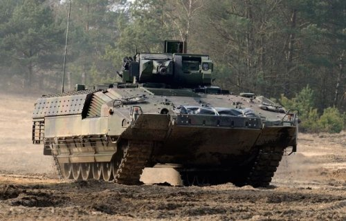 German Army receives Puma infantry fighting vehicle