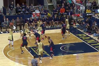 Pitt hits 13 3-pointers, upends No. 11 Virginia