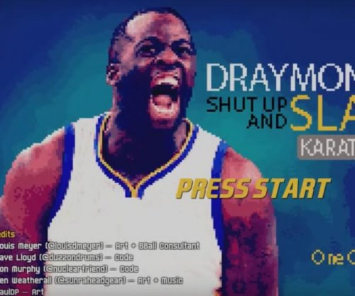 Someone made a Draymond Green 'Karate Basketball' video game