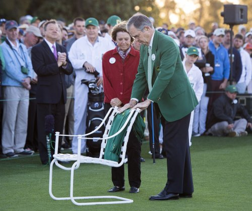 2017 Masters: Jack Nicklaus, Gary Player open tournament without Arnold Palmer