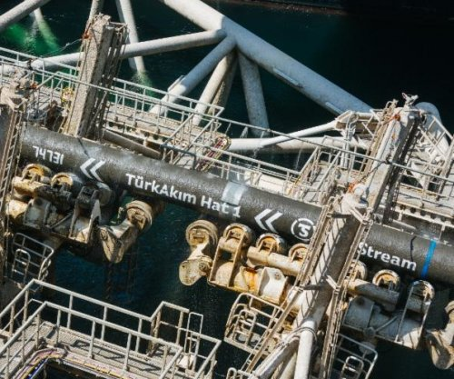 Gazprom completes section of TurkStream pipeline