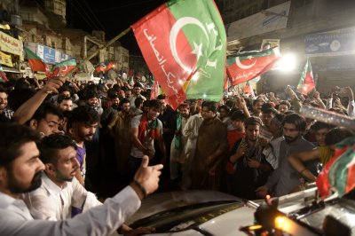 Imran Khan declares victory in Pakistani election
