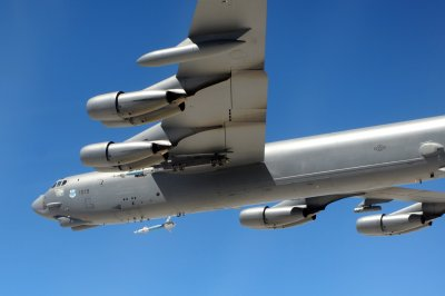 Air Force sends two B-52 bombers over East China Sea