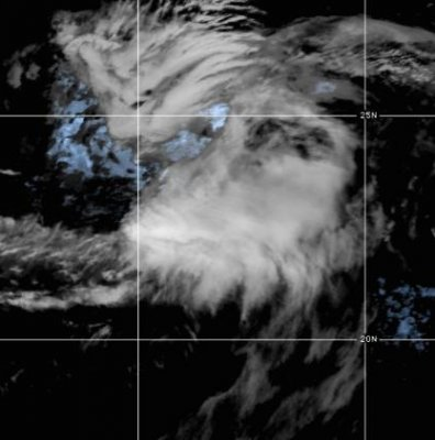 Tropical Storm Vicky weakening in Central Atlantic thumbnail