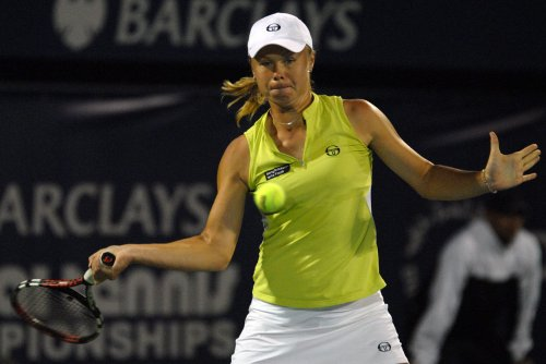 Dushevina posts big upset in Sweden