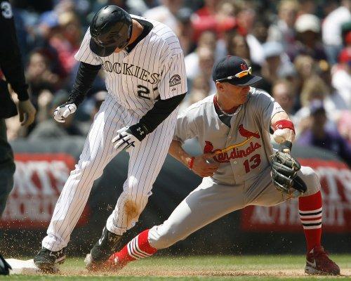 MLB: Colorado 9, St. Louis 3