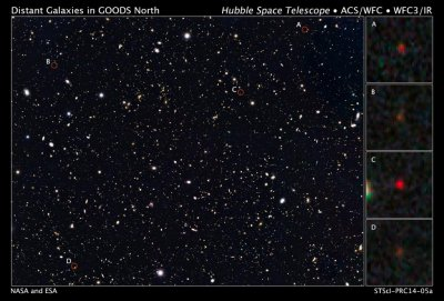 Hubble captures galaxies from 13.2 billion years ago