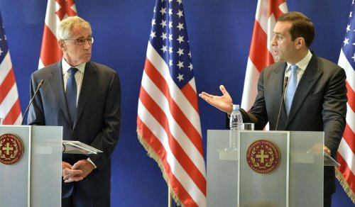 U.S. supportive of Georgia's bid to join NATO