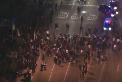 24 arrested in Anaheim, Calif., after protest over police altercation with teens
