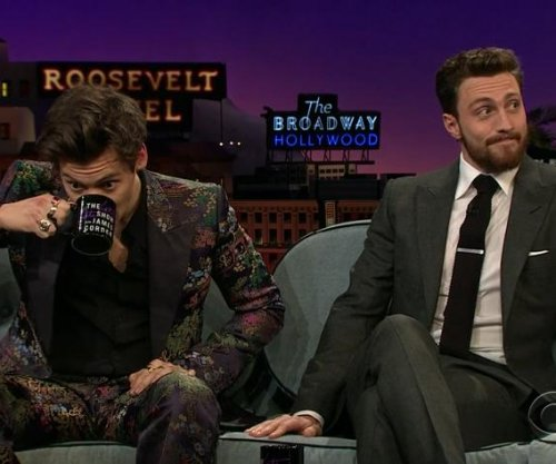 Harry Styles cringes over Kendall Jenner on 'Late Late Show'