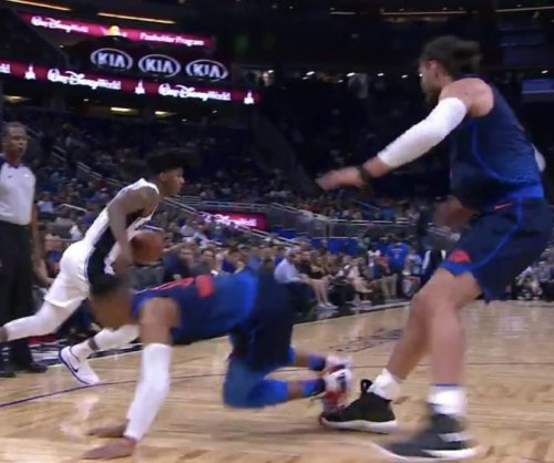 Magic's Elfrid Payton demolishes Thunder's Russell Westbrook with crossover