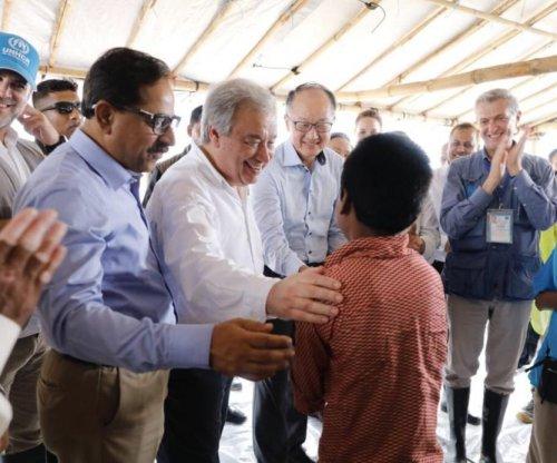U.N. chief visits Bangladesh amid 'unimaginable' Rohingya atrocities