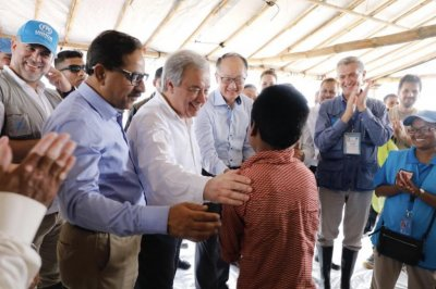 U.N. chief visits Bangladesh amid 'unimaginable' Rohingya atrocities