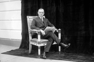On This Day: Calvin Coolidge sworn in as president