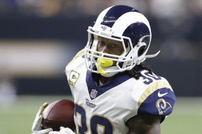 Rams RB Todd Gurley suffered mild ankle injury vs. Chiefs