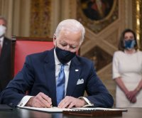 Biden expected to quickly sign orders for COVID-19, climate change, other priorities
