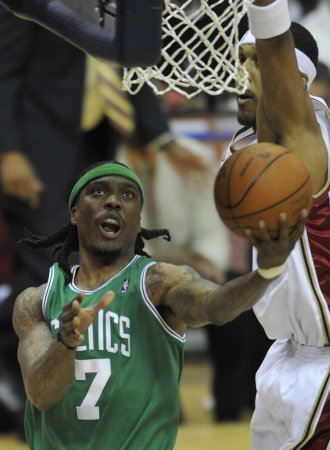 Celtics player's stepdad arrested at game