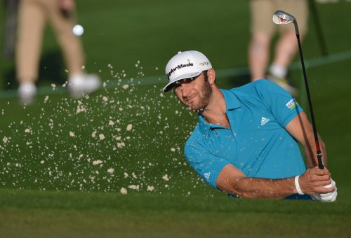 Dustin Johnson, despite double bogeys, leads WGC in Shanghai