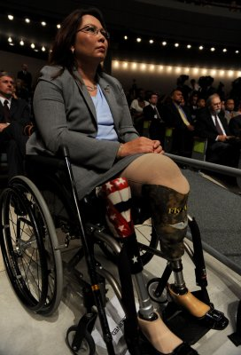 Duckworth won't run for lieutenant gov.