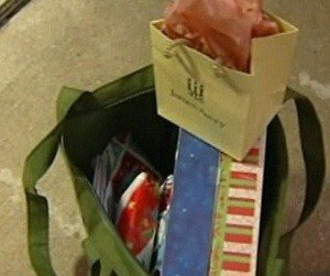 Bag of lost gifts returned to family