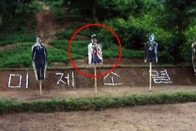 North Korea using image of South Korean president in target practice