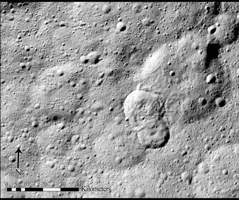 Ceres landslides reveal patches of hidden ice