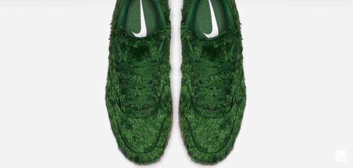 Nike Golf Air Max 1G Faux Leather Golf Shoes