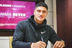 Washington Football Team signs ex-college basketball player Sammis Reyes