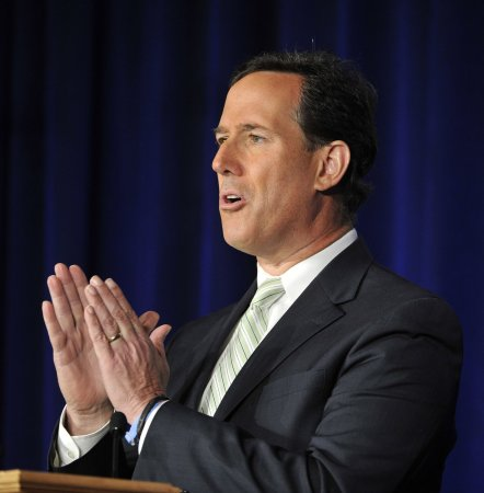 Details of Romney-Santorum meeting unknown