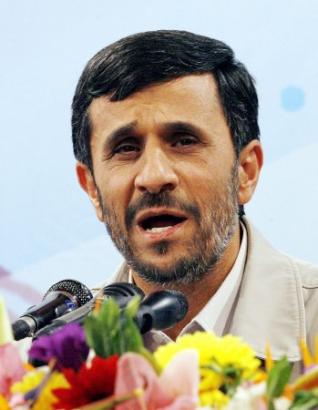 Honorary Ahmadinejad event criticized