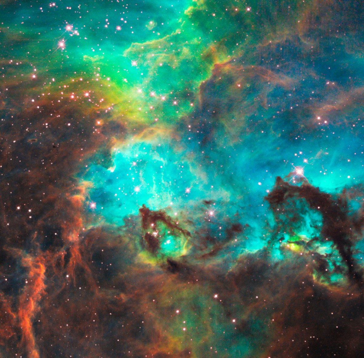 Pictures From The Hubble Telescope