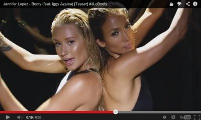 Jennifer Lopez teases 'Booty' music video with Iggy Azalea