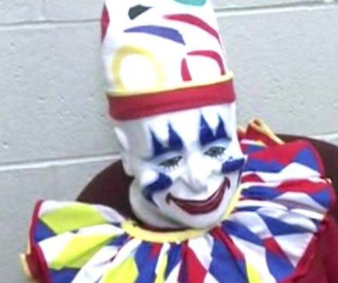 Stolen animatronic clown found in sex offender's home