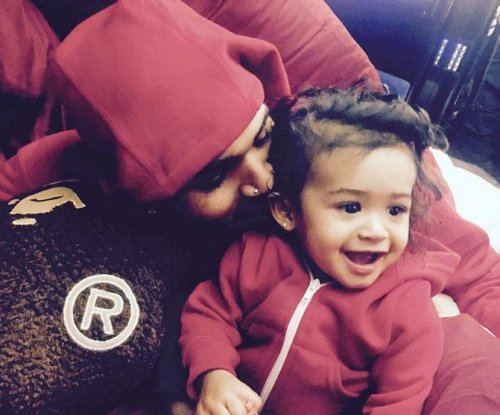Chris Brown shares photo of daughter Royalty on Instagram
