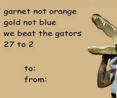 Florida State shades Florida in Valentine's Day tweet