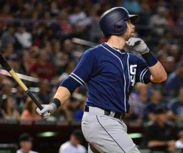 Ryan Schimpf blast highlights 5-run ninth as San Diego Padres edge Arizona Diamondbacks