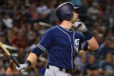 Ryan Schimpf blast highlights 5-run ninth as San Diego Padres edge Arizona Diamondbacks