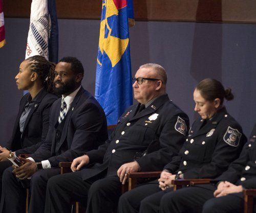 Police officers honored for heroism during Va. ballpark shooting