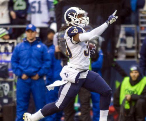 Todd Gurley makes MVP claim as Los Angeles Rams beat Tennessee Titans for division title