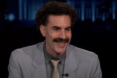 Sacha Baron Cohen gives COVID-19 inspection as Borat on 'Kimmel'