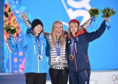Jenny Jones wins Great Britain's first snow medal at Winter Olympics