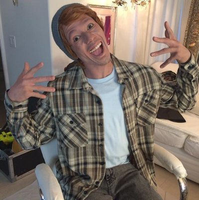 Nick Cannon wears 'whiteface' to promote new album 'White People Party Music'