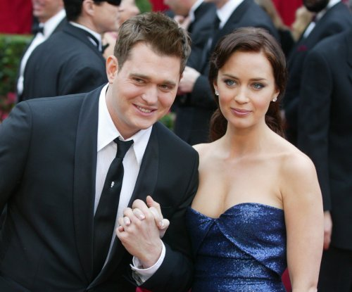 Michael Buble addresses Emily Blunt cheating rumors