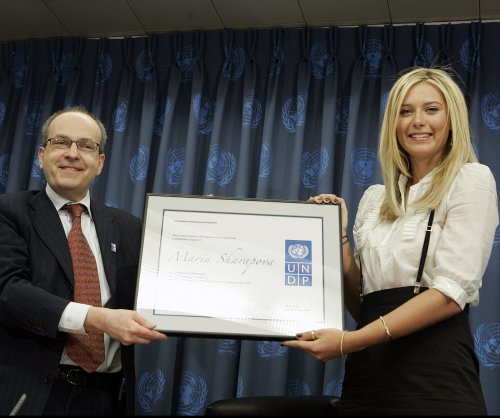 U.N. suspends Maria Sharapova's goodwill ambassador role