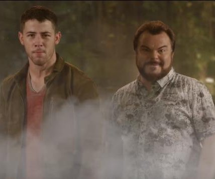Jack Black, Nick Jonas sing 'Jumanji' theme song in comedic music video