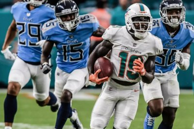 Miami Dolphins beat Tennessee Titans in longest game in NFL history